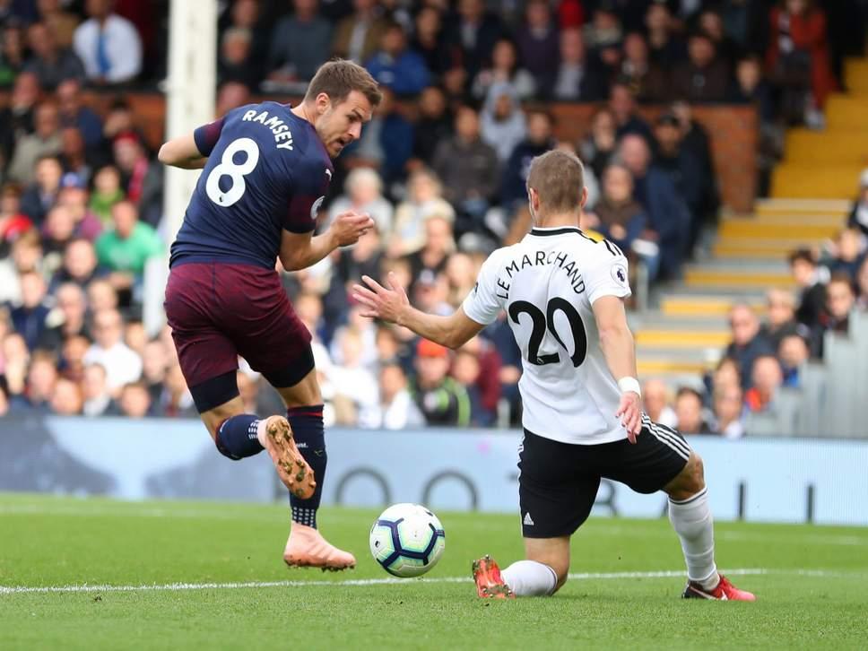 Aaron-Ramsey-Arsenal-Fulham