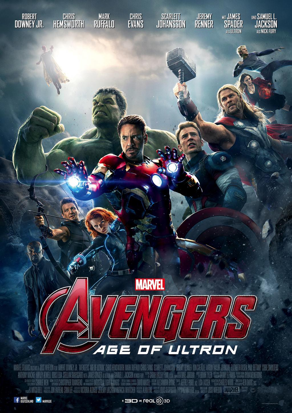 Image result for avengers age of ultron poster